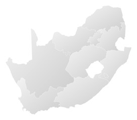 Map - South Africa