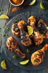 Spicy Grilled Jerk Chicken