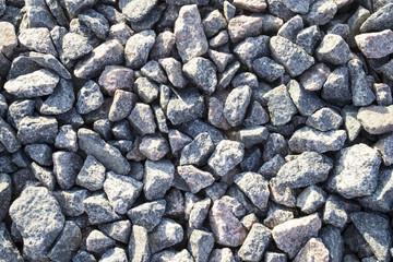 Background of fine gravel