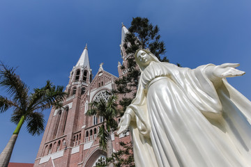 Saint Mary's Cathedral at Yangon, Myanmar