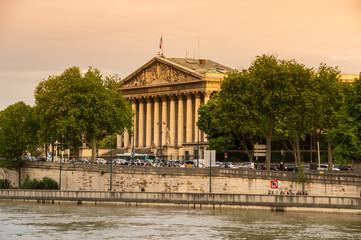 Keuken foto achterwand Xian Assemblee Nationale in Paris