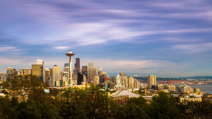 Fotomurales - Seattle Skyline