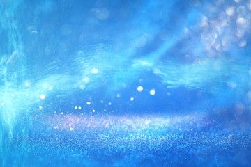 abstract under the sea background with glitter overlay and textures