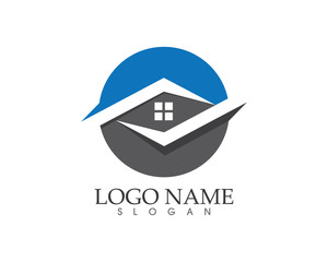 Building and home logo