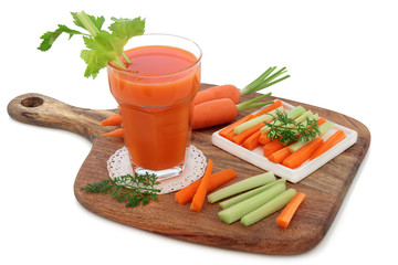 Carrot and Celery Health Drink