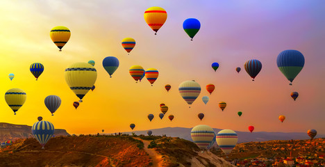 Hot air balloons balloon