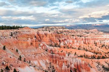 natural landmark Bryce Canyon National Park in Utah, USA
