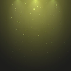 Artificial illumination lamps, vector graphics, glow effect, element, design tool, sunshine, illustration for presentations, electrical lighting, background for your design.