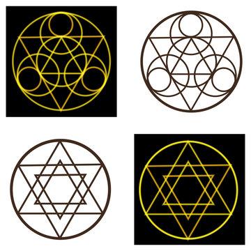 occult vector symbols