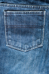 Back pocket Jeans texture