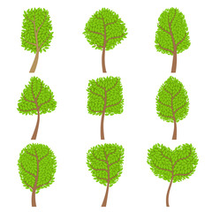 Decorative Trees Set