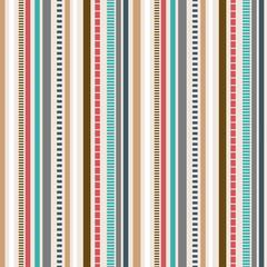 Stripes Seamless pattern; Retro colors pattern.