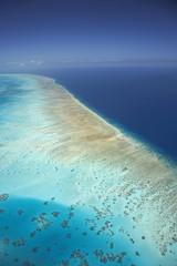 Arlington Reef, Great Barrier Reef Marine Park, North Queensland, Australia - aerial