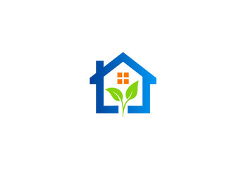 green leaf home garden logo