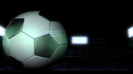 Football - soccer field