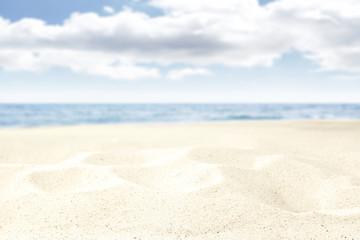 Fotobehang Wit beach background