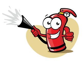 Funny extinguisher
