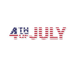 Happy independence day 4-th july.