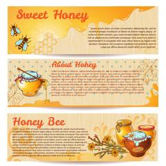 Honey Banner Set