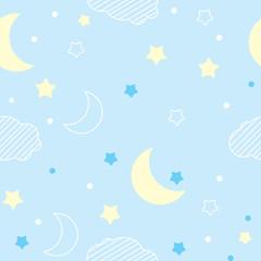 children's pattern - night