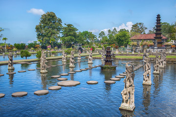 Water Palace of Tirta Ganggain East Bali, Indonesia