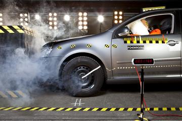 A crash test
