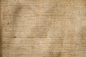 Sackcloth woven texture pattern background light cream yellow be
