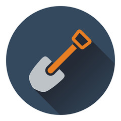 Icon of camping shovel