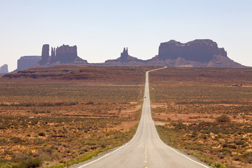 Monument Valley Navajo Tribal Park, Monument Valley, Utah, USA