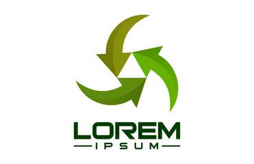 recycle eco logo