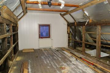 Dachstuhl ausbauen - roof truss reconstruct 02