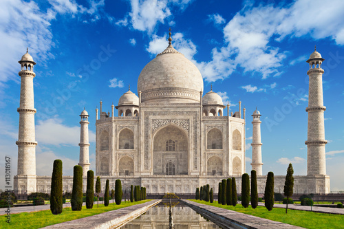 Fotomurales Taj Mahal in sunrise light