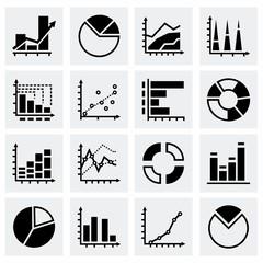 Vector Diagrams icon set