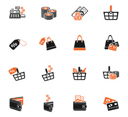 marketing and e-commerce icon set