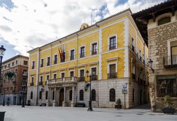 Town hall building in Teruel
