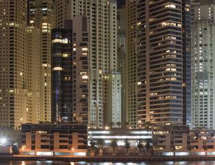 Skyscapers in Dubai, UAE