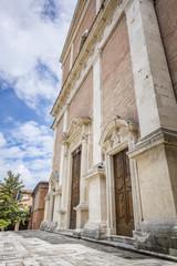 church in Fabriano Italy Marche