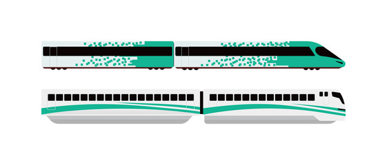 Underground train vector illustration.