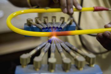 Neon tube firing