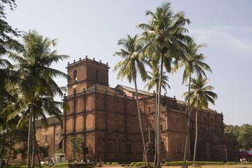 Bom Jesus Church, UNESCO World Heritage Site, Goa, India, Asia