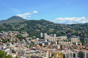 Nice, quartiers nord et mont Chauve