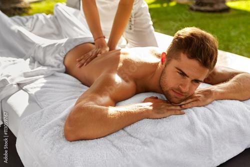 Sexy guy massage