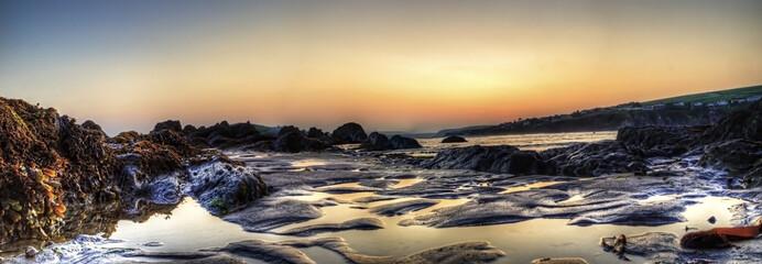Sunset Bantham Beach