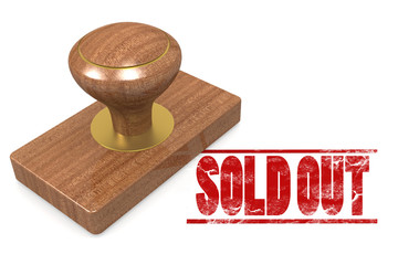 Sold out wooded seal stamp