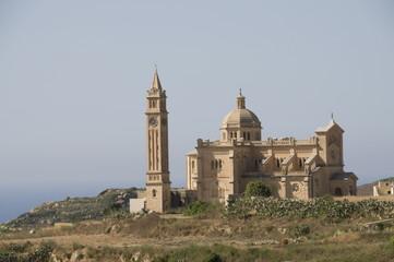 Ta Pinu, Malta's national shrine, Gozo, Malta, Europe