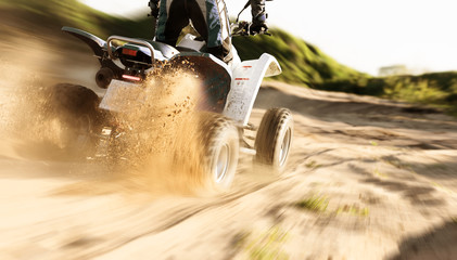 ATV Bike speed