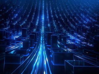 Daten Server Stadt Infrastruktur