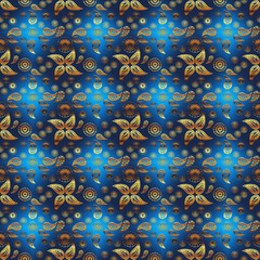 Abstract seamless pattern.  repeating background texture. Geometric print. Fabric design. Wallpaper