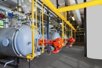 Old gas steel boilers