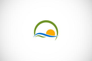 sun wave logo